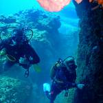 Advance your diving. Diver certification holidays for certified divers. Scuba diving holidays package. Dive vacations to Kalymnos island, Aegean, Greece.