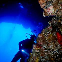 10 dives for certified divers. Diving holidays to Kalymnos, Aegean, Greece.