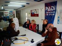 Your PADI instructor will teach you the basic safety guidelines and skills.