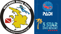 KALYMNOS Diving Center is an Authorized PADI 5 Star Dive Resort
